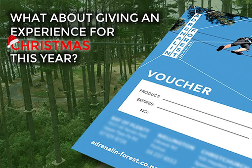 Adrenalin Forest Gift Vouchers